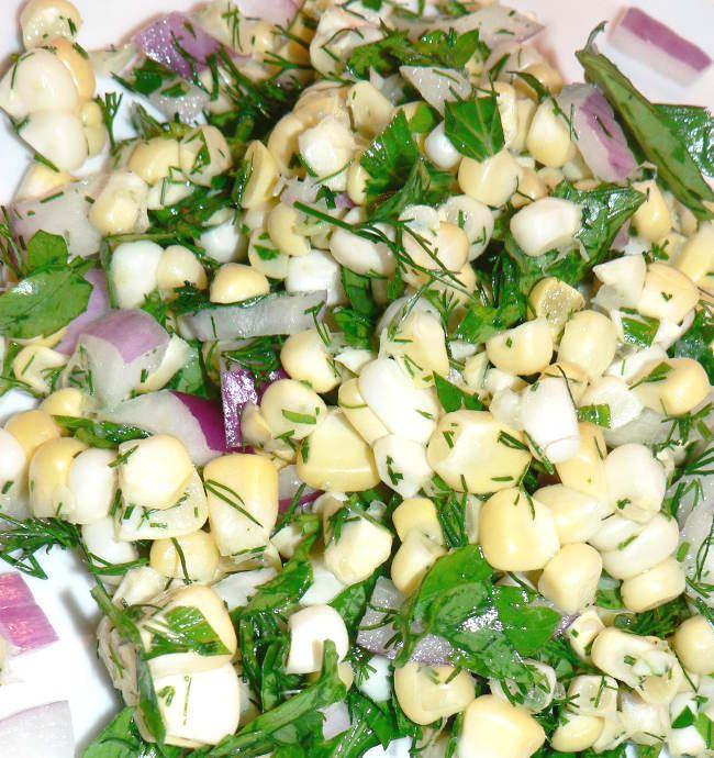 How To Make Summer Corn Salad
