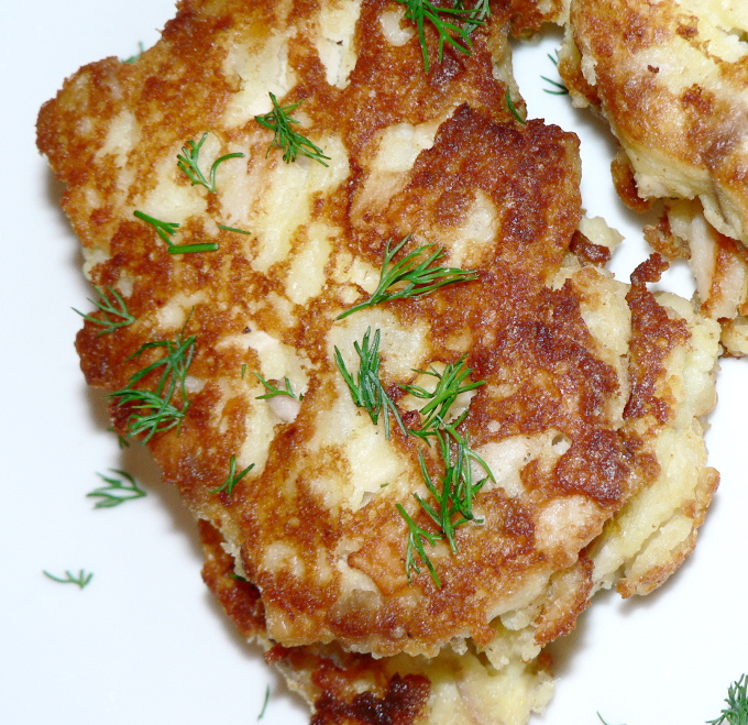 Leftover Turkey And Mashed Potatoes Fritters